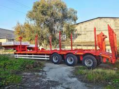 Hartung. 94334.105-0000024 полуприцеп-тяжеловоз г/п 39 тонн, 39 000кг.