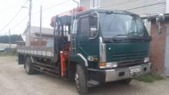 Nissan Diesel. Продаю ниссан дизель бортовой грузовик с крановой устоновкой юник-503, 12 500куб. см., 10 000кг., 4x2