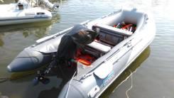 Продам надувную лодку ПВХ Forward 390 с новым мотором Suzuki DF20AS