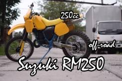 Suzuki RM 250, 1986