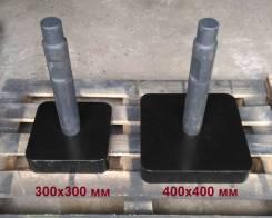 Трамбовка универсальная 40х40см для гидромолота