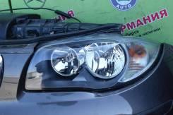 Фара. BMW 1-Series, E81, E82, E87, E88 N43B16, N43B20, N45B16, N46B20, N47D20, N52B30, N54B30, N54B30TO, N55B30M0, N47D20T0