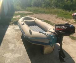 Надувная лодка Seahawk-II с мотором Mercury