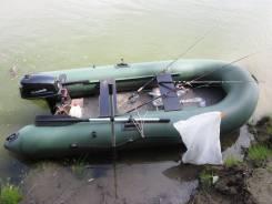 Лодка пвх + мотор 5