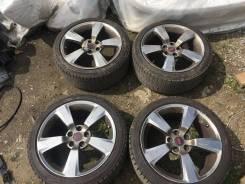 """Колеса Subaru STI R18 5х114.3 + Bridgestone Blizzak VRX 225/40 зима. 8.5x18"""" 5x114.30 ET55 ЦО 56,1мм."""