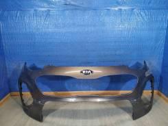 Бампер передний верхняя часть Kia Sportage 4 QL (2016-нв) [86511F1500]