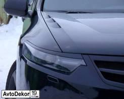 Реснички (накладки) на фары Honda Accord 8 (Хонда Аккорд 8) 2008-2012г