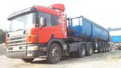Scania P114. Тягач , Тонар 95231, 10 640куб. см., 45 000кг., 6x4