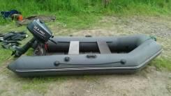 Мастер лодок Аква 2800. двигатель без двигателя