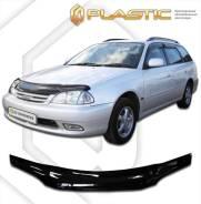 Дефлектор капота Toyota Caldina 2000-2002 (Classic черный)