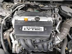 Двигатель в сборе. Honda Accord, CU2 K24A, K24A3, K24A4, K24A8, K24W, K24W4, K24Z2, K24Z3