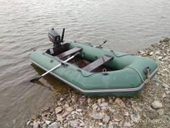 Продам лодку ПВХ Аква 2900 с мотором Hidea 5 л. с.