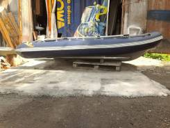Надувная лодка РИБ алюминиевый