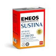 Масло моторное Eneos Sustina SN 0W20 4л, синтетика, бензин, Япония