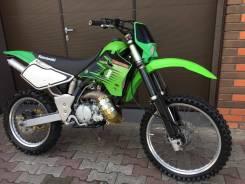 Kawasaki KDX 220R. 220куб. см., исправен, птс, без пробега