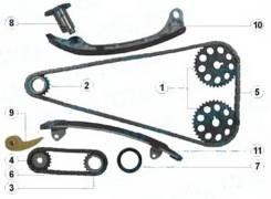 Комплект ГРМ Toyota 1AZ-FE / 2AZ-FE 01-