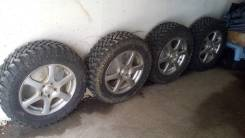"""Продам комплект колес с грязевой резиной NorTec МТ540 215/65/16"""". 6.5x16"""" 5x114.30 ET38 ЦО 61,0мм."""