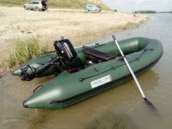 Продам лодку ПВХ Omolon SLDK A-340