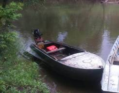 Казанка транец под водомёт