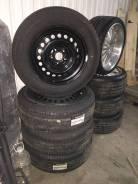 """Колеса комплект Nissan trail RAV4 225/65r17. 7.0x17"""" 5x114.30 ET45"""
