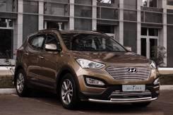 Hyundai Santa Fe. Без водителя