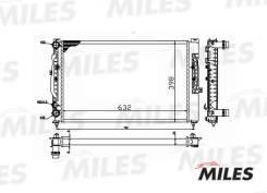 Радиатор (мех. сборка) AUDI A4/A6 1.6/1.8T 95-07) ACRM056 miles ACRM056 в наличии