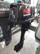 Новый лодочный мотор Nissan Marine 5 от завода Tohatsu. Made in Japan.