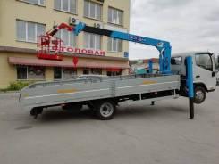 JAC N56 с КМУ, 2019