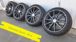 """245-40-19, Manaray Sport VR-5 S10, в наличии. 8.0x19"""" 5x114.30 ET42 ЦО 73,1мм."""