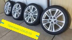 "245-40-18, оригинал Lexus GS, в наличии. 8.0x18"" 5x114.30 ET45 ЦО 60,1мм."