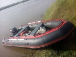 ПВХ лодка Корсар командор 4,3м