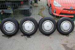 """Комплект оригинальных колес с колпаками Toyota Crown S13. x14"""" 5x114.30"""