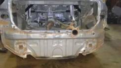 Задняя панель кузова ниша запаски