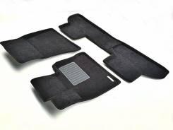 Коврики салона текстильные 3D Euromat БИЗНЕС BMW X5 (F15)/X6 (F16) (2015-) Черные