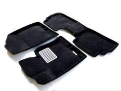 Коврики салона текстильные 3D Euromat ЛЮКС Hyundai Sonata YF (2010-2016) Черные
