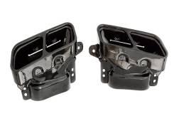 Насадки на глушители Mercede-Benz черные