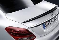 Спойлер на крышку багажника Mercedes w205 43 AMG черный