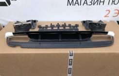 Комплект насадок с диффузором для Mercedes C-class W205 AMG 6.3 Edition 1