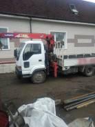 Услуги грузового автомобиля с краном