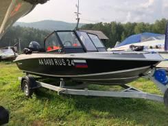 Лодка Салют 490 NL+мотор Suzuki 90 2017 г.