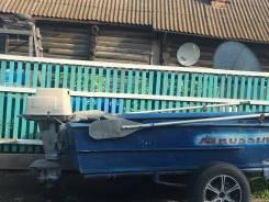 """Продам лодку моторную, грузоподъемность 400 кг. Мотор """"вихрь 30"""""""