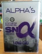 Масло моторное Alpha's 10w30 SN, синтетика, 4 л