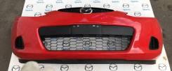 Бампер передний Мазда 2 (DE) 2007-2009 (D65150031C8H БУ) ЦБ008585