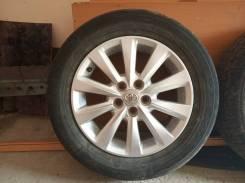 """Dunlop 195/65R15 на оригинальных литых дисках Toyota. x15"""" 5x100.00"""