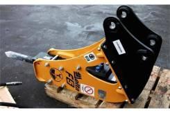 Гидромолот Delta F5 на экскаватор-погрузчик