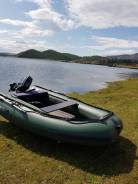 Лодка Solar 350 Максима + транцевые колеса