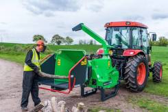 Навесной измельчитель веток greenmech Chip Master на трактор