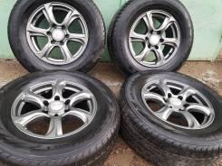 "Колеса диски+шины 265/65/17 хорошая резина Prado/Pajero/Surf/Hilux. 7.5x17"" 6x139.70 ET30 ЦО 106,0мм."