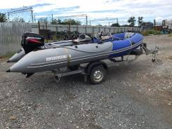 Продам лодку Aquilon 480, мотор Mercury 40лс 2-х тактный , с прицепом