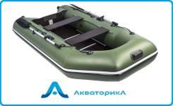 Лодка ПВХ Аква 2900 СК, под мотор, доставка по России, гарантия
